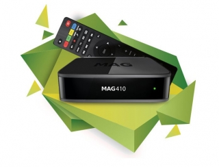 MAG 410 IPTV 4K UHD SET TOP BOX