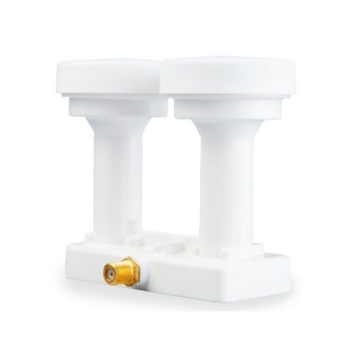 OPTICUM LNB Robust MONO SINGLE 0,1dB 4,3st Gold konektory F