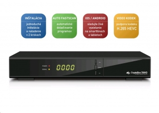 AB CryptoBox 700 HD H.265/HEVC