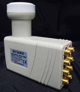 DI-WAY Octo LNB 0,1 dB Gold