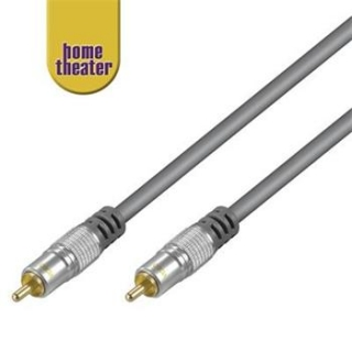 Home Theater Propojovací HQ 1x CINCH RCA - 1x CINCH RCA kabel 1,5m M/M - HT 30-150