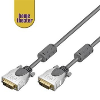 Home Theater HQ DVI-D dual link kabel DVI-D male <> DVI-D male (24+1) 3m - HT 230-300