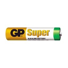 GP Super Alkaline AAA 1,5V LR03 1ks