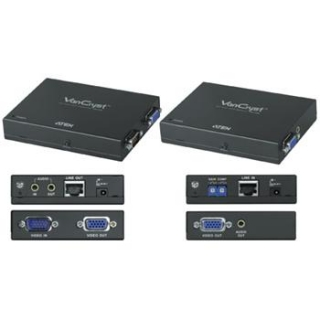 ATEN Video extender + audio, 1920x1200 (30m)/1600x1200(150m) - VE-170