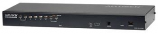 ATEN 8-port OverNet Cat5 KVM PS/2+USB, OSD, rack, SUN, PON, VNC - KH-1508AI