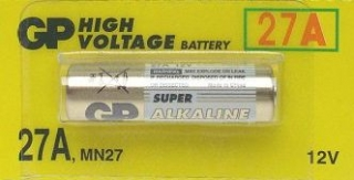 GP High Voltage 27A 12V 20mAh