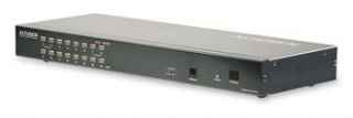 ATEN 16-port Cat5 KVM PS/2+USB, OSD, rack, SUN KH-1516A - KH-1516