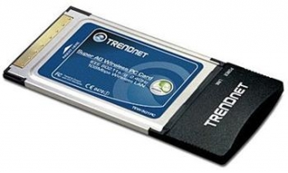 TRENDnet WLAN CardBus IEEE 802.11a/g, 108Mbps