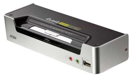 ATEN 2-port KVMP USB HDMI, usb hub, audio - CS-1792