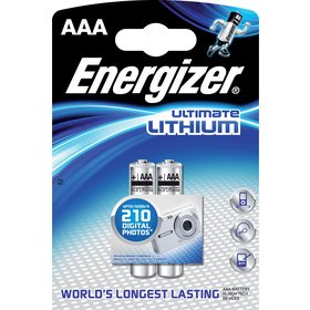 Ultimate Lithium FR03/2 2xAAA ENERGIZER